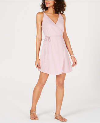Volcom Juniors' Cotton Wrap Dress