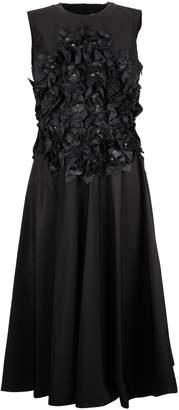 Moncler Noir Floral Applique Dress