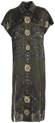 Versace Side Slit Dress
