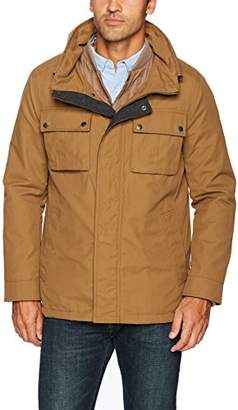 Cole Haan Men's 3-in-1 Military Oxford Utility Jacket