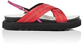 Off-White Women's Industrial Belt Sandals-Red