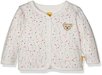 Steiff Baby Girls' Sweatjacke 1/1 Arm Zum Wenden Sweatshirt