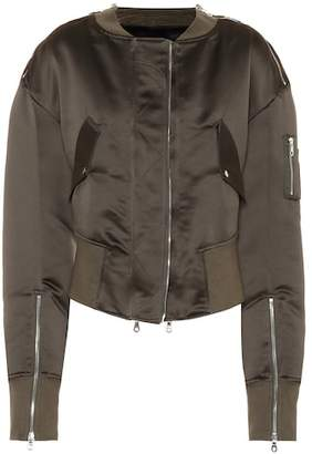 Rokh Satin bomber jacket
