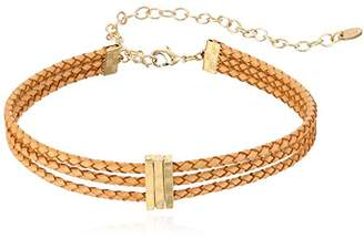 Ettika Riley Rope in and Gold Choker Necklace