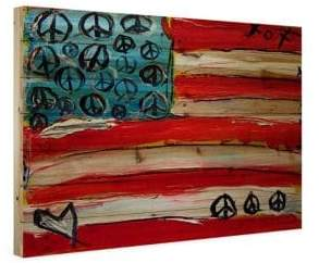 Marmont Hill Peace Flag Print