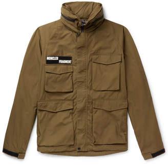 Moncler Genius 7 Fragment Logo-Appliquéd Cotton Field Jacket