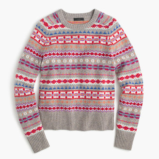 Holly sweater in Fair Isle $79.50 thestylecure.com