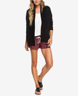 Roxy Juniors' Ready To Travel Open-Front Cardigan