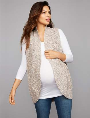 A Pea in the Pod Cocoon Maternity Sweater Vest