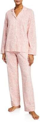 BedHead Plus Size Leopard-Print Classic Pajama Set