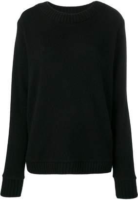The Elder Statesman oversized crewneck sweater