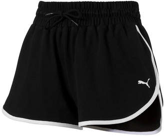 Puma Womens Mid Rise Moisture Wicking 3 Running Short