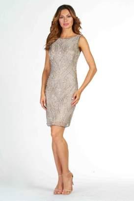 Frank Lyman Beaded Sequin Dress