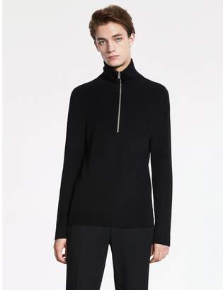 Calvin Klein extra fine wool half zip sweater