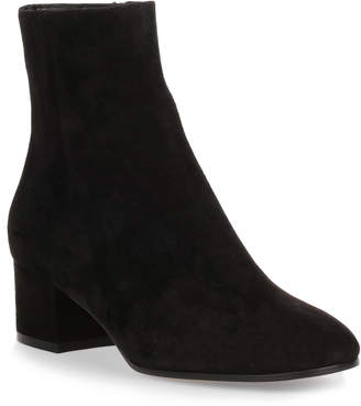 Gianvito Rossi Rolling 45 black suede ankle boot