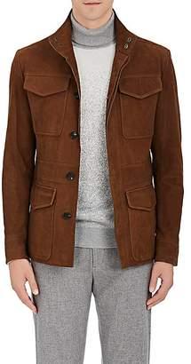 Ermenegildo Zegna Men's Nubuck Field Jacket