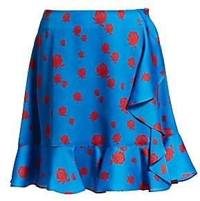 Kenzo Women's Ruffle A-Line Skirt