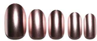 STATIC NAILS Rose Gold Chrome Pop-On Reusable Manicure Set