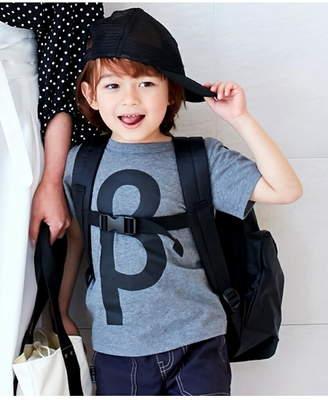 HusHusH (ハッシュアッシュ) - HusHusH(Kids) 単色ロゴ αβ!Tシャツ ハッシュアッシュ カットソー