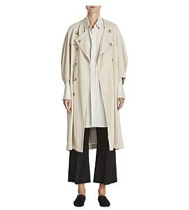Bassike Twill Trench Coat