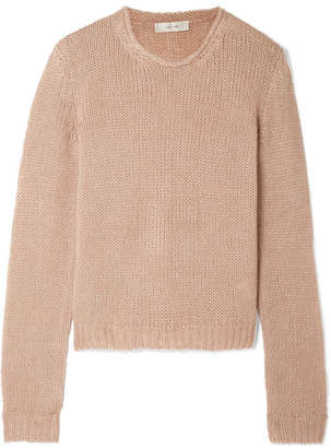 The Row Droi Cashmere-blend Sweater - Camel