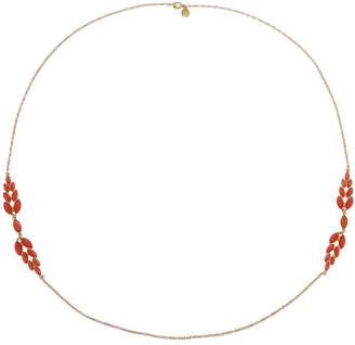 MONET JEWELRY Monet Jewelry Womens Orange Strand Necklace