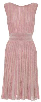 Missoni Knitted metallic dress