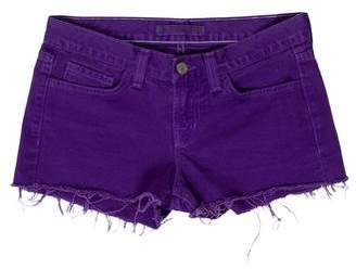 J Brand Denim Low-Rise Shorts