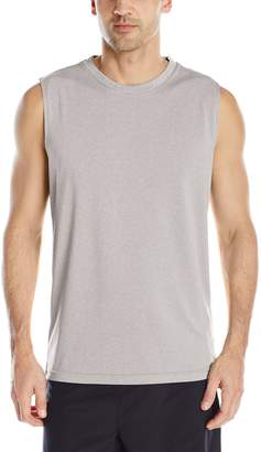 Head Men's Sleeveless Hypertek Performance Top, Grey Heather