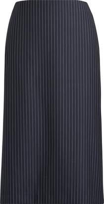Ralph Lauren Cindy Striped Wool Skirt