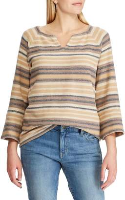 Chaps Long-Sleeve Striped Sweater