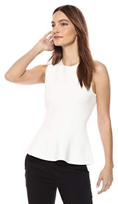 Theory Women's Sleeveless Classic Peplum Top