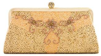 Farfalla Womens 90461 Clutch Gold