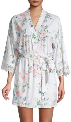 Flora Nikrooz Floral Wrap Robe