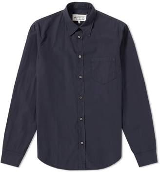 Maison Margiela 10 Garment Dyed Poplin Shirt
