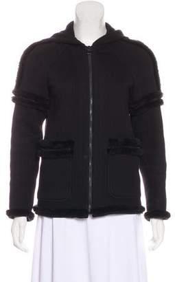 Chanel Sport Hooded Zip-Front Jacket