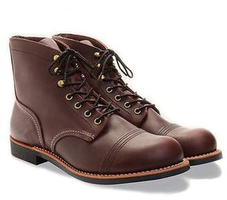 Red Wing Shoes Shoes Iron Ranger Boot in Oxblood