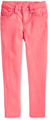 Celebrity Pink Super Soft Colored Denim Jeans, Little Girls (4-6X)