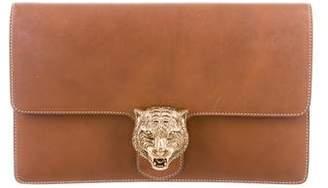 Gucci Animalier Leather Clutch