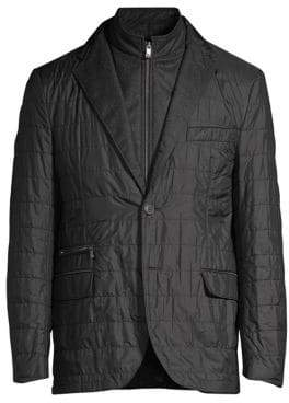 Corneliani Quilted ID Blazer Jacket