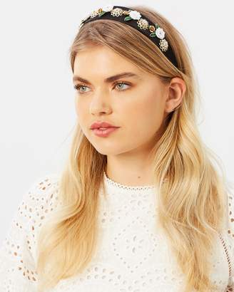 Johnny Loves Rosie Alice Rose Band Resin Headband