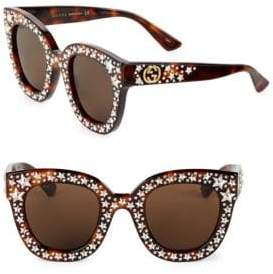 Gucci 49MM Star-Studded Sunglasses