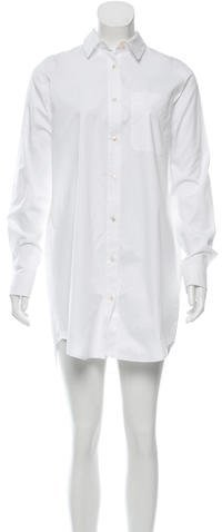 Alexander Wang T by Alexander Wang Collared Button-Up Shirtdress w/ Tags