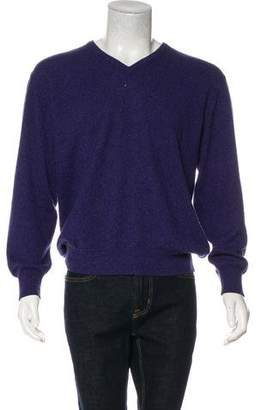 Loro Piana Wool V-Neck Sweater
