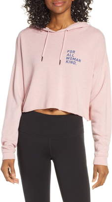 good hYOUman Anya For All Woman Crop Hoodie