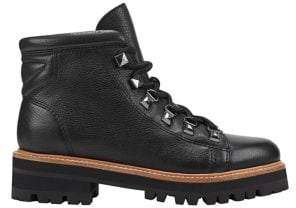 Marc Fisher Issy Lace-Up Leather Booties