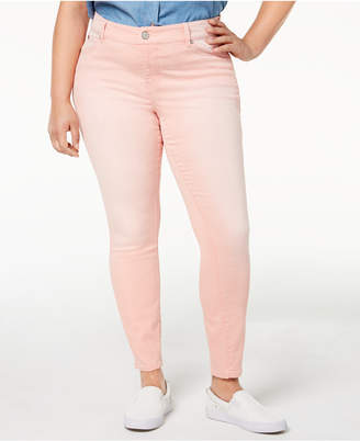 Celebrity Pink Trendy Plus Size Jayden Colored Skinny Jeans