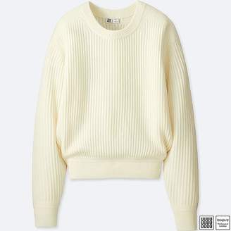 Uniqlo Women's U Merino-blend Crewneck Sweater