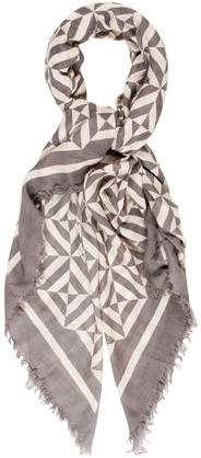 Marc Jacobs Marc Jacobs Geometric Print Lightweight Scarf
