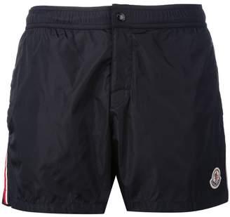 9ac0b1e207 Moncler striped trim swim shorts
